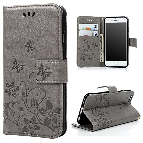 iPhone Wallet Case Protective Kickstand