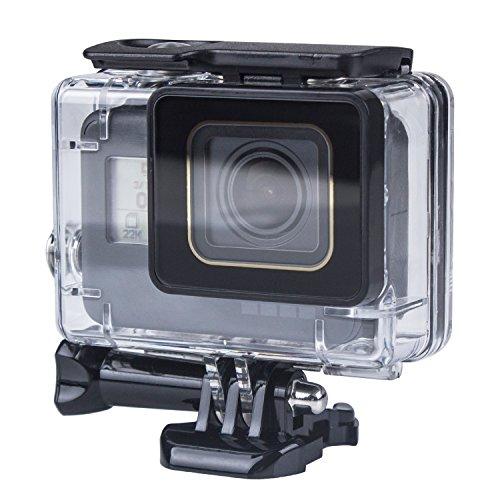 Beinhome GoPro Hero 6 5 Waterproof Housing Case, 45m Standard Waterproof Housing Cover Shell [Dirt Proof] [Anti-Scratch] for GoPro Hero 6 and (Housing Dust)