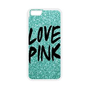 "Unique Phone Case Pattern 8Love Pink Pattern- For Apple Iphone 6,4.7"" screen Cases"