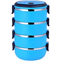 Wumedy Stainless Steel Lunch Containers 4-Layer Lunch Box