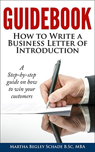 guidebook how to write a business letter of introduction formal letters made easy