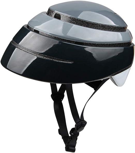 MoerMZ Casco Plegable portátil Casco de la Bicicleta de la Ciudad ...