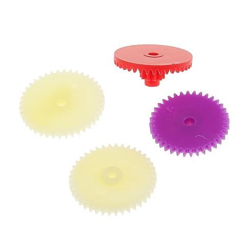 Produzione Giocattoli In Plastica.Sharplace 6 Pcs Kit Meccanismi Diy In Plastica Per Giocattolo Di