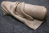 DeWitt NB12 Natural Burlap (5.5 OZ) 12' 6'' x 250' Roll Plant Protection Erosion Control