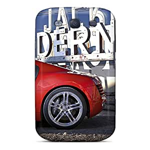 Samsung Galaxy S3 Tmz17472tvRa Allow Personal Design Realistic Audi R8 Pictures Shock-Absorbing Hard Phone Cases -CristinaKlengenberg