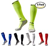 #4: Boys/Girls Outfits Compression Long Sport Knee High Football & Soccer Socks Pack (Kids/Youth Gifts)