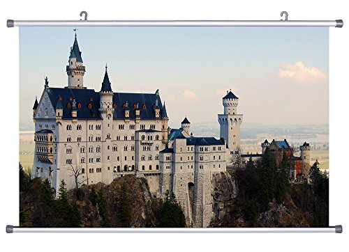 Art Print Wall Scroll Poster- Castle from Beauty and the Bea