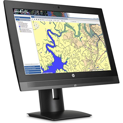 HP Z1 G3 All-in-One Workstation Desktop PC: 23.6-inch 4K IPS (3840x2160), Intel Quad-Core i7-6700, 1TB HDD, 8GB, WiFi+Bluetooth, Windows 10 Professional