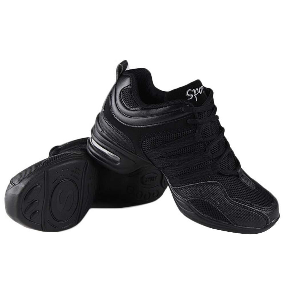 eb9e1d12720 Gtagain Contemporáneo Jazz Zapatos Mujer - Lona Cordones Zapatillas  Informal Danza Baile Practicidad Running Sneaker Aire Libre Deportes  Running (Los ...