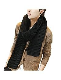 Unisex Winter Warm Long Scarf Thick Wool Knit Benetto Neck Warmer Shawl Wrap