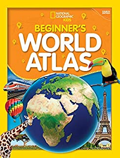 Book Cover: National Geographic Kids Beginner's World Atlas, 4th Edition