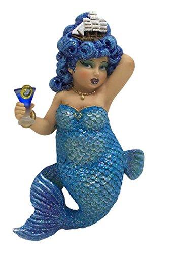 December Diamonds Mermaid Ornament - Rough Waters