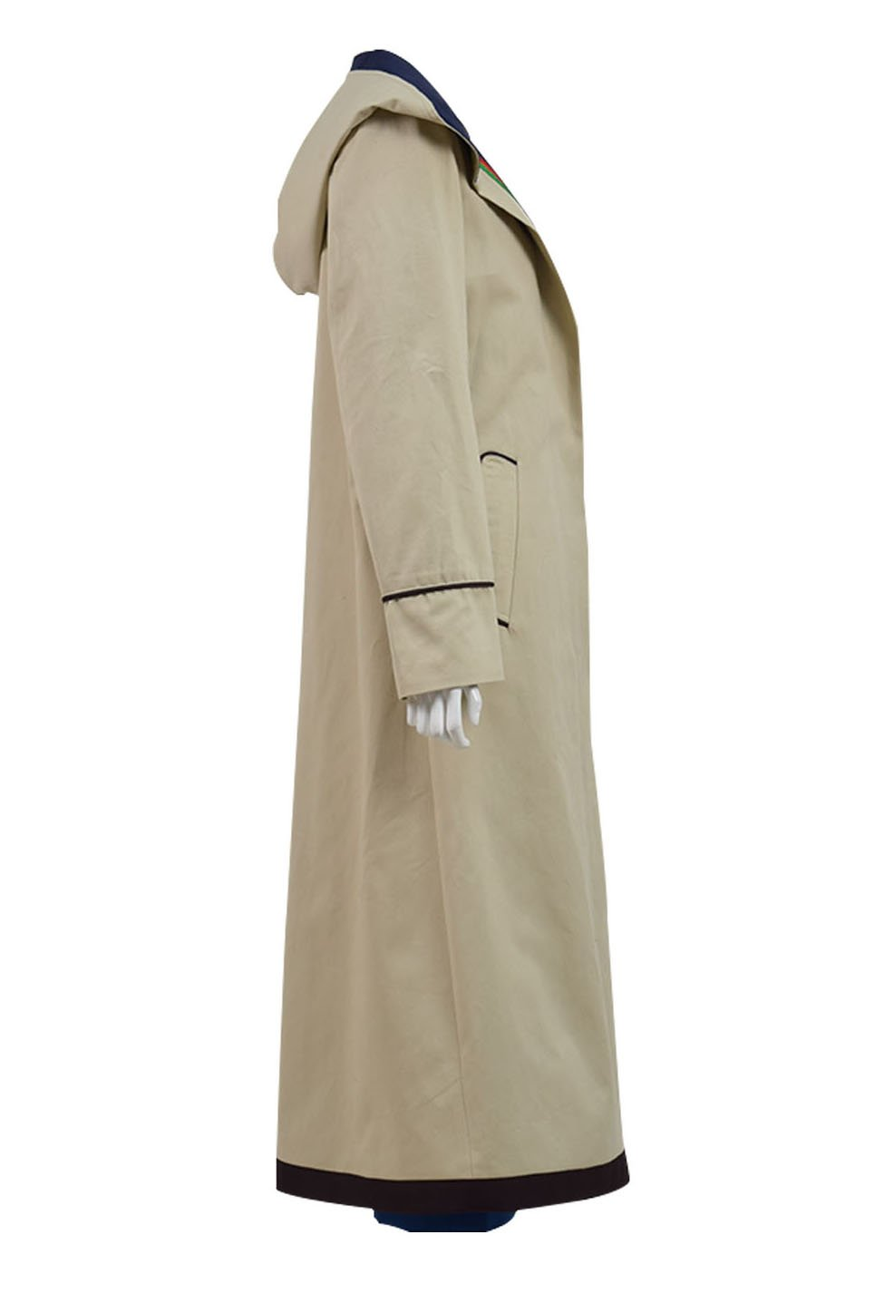 Very Last Shop Classic Sci-Fi TV Series 13th Doctor Costume Women Beige Trench Coat Overcoat (Beige Full Set, US Women-XXL) by Very Last Shop (Image #3)