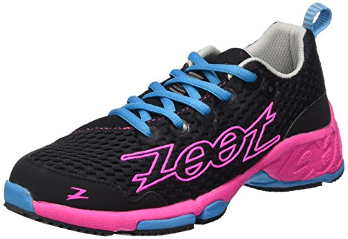 ZootW BANYAN - Zapatillas de running mujer multicolor - multi-coloured - Mehrfarbig (black/pink glow/atomic blue)