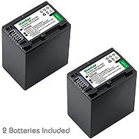 Kastar Battery 2x for Sony NP-FH100 DCR-DVD92 DVD405 DVD408 DVD610 DVD620E DVD650E HC48 HC96 SR45 SR47 SR65 SR67 SR85 SX40 HDR-CX7 CX12 CX520 HC3 HC5 HC7 HC9 UX20 HDR-SR10 SR11 SR12 XR520V XR500E