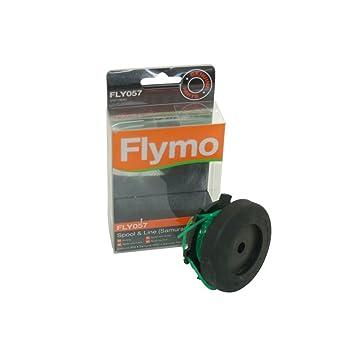 Flymo FLY057 5107789900 - Carrete con hilo para cortacésped ...