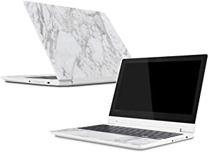 Mightyskins Skin Compatible with Lenovo Chromebook C330 (2018) - Frost Marble | Protective, Durable, and Unique Vinyl Decal Wrap Cover | Easy to Apply, Remove, and Change Styles | Made in The USA