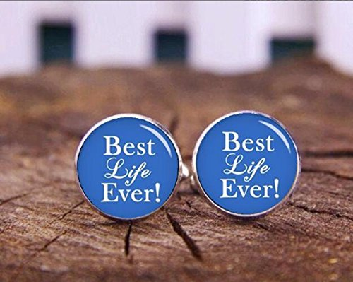 Best Life Ever Cufflinks, Tetragrammaton Cuff Links, Personalized Cufflinks, photo, Special gifts (Jehovah Witness And Halloween)