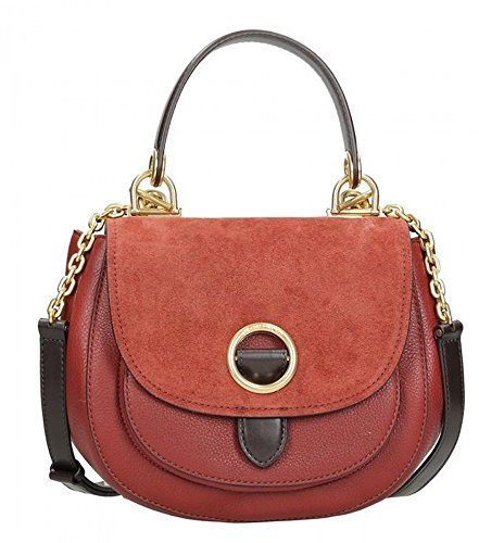 Michael Kors MICHAEL Isadore Medium Top Handle Messenger (Brick)