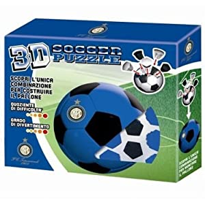 Puzzle 3d Soccer Inter Il Puzzle Del Calcio Diam 74 Cm
