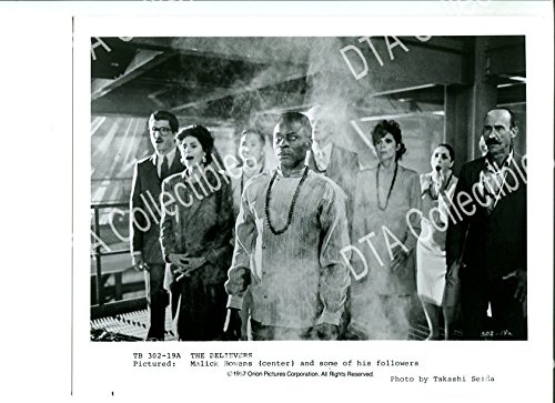 Silent picture PHOTO: BELIEVERS-8X10 STILL-1987-MARTIN SHEEN-MALICK BOWENS-DRAMA-HORROR-MYSTERY FN