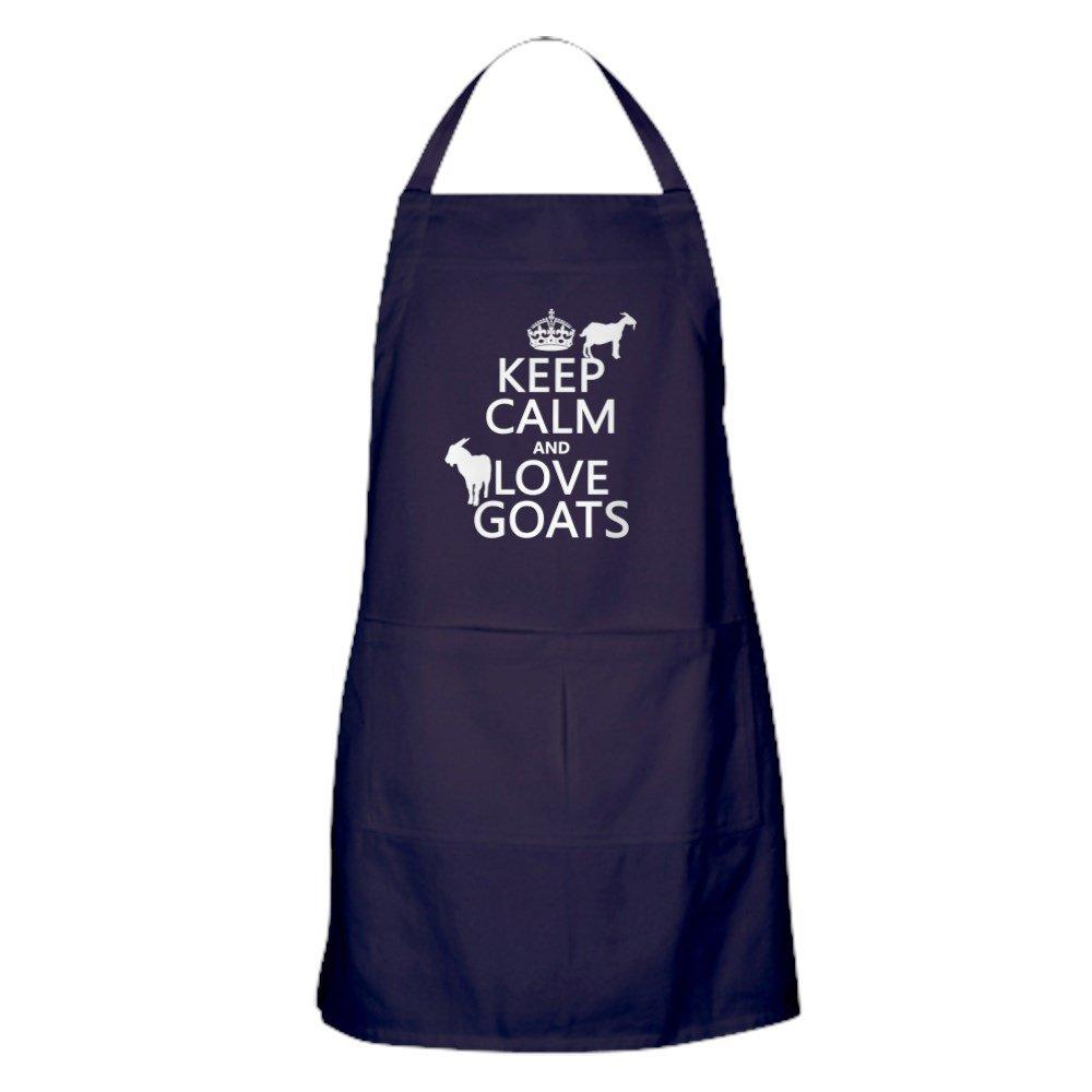 /Keep Calm and Love ch/èvres/ CafePress/ /Tablier de cuisine avec poches