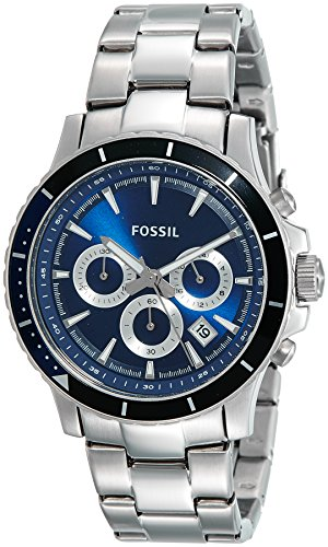Fossil Briggs Chronograph Blue Dial Men #39;s Watch   CH2927I