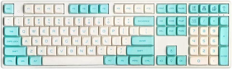 Juego de llaves para teclados mecánicos con diseño de ...