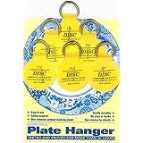 Flatirons Disc Adhesive Plate Hanger Set (6 - 1.25 Inch Hangers)