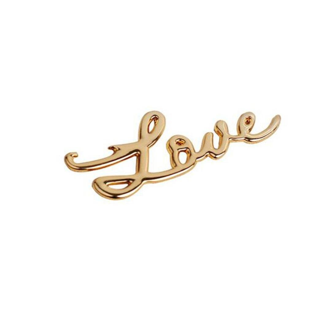 Bottle Opener, Kemilove Love Shape Alloy Tool Wedding Party Birthday Baby Shower Favor Gift Souvenirs (Gold)