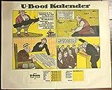 VINTAGE WWI U-BOOT KALENDAR - COMIC BOOK VINTAGE
