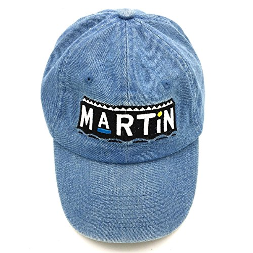 Zhang Liyue Cotton Baseball Cap 3D Embroidery Dad Hat Adjustable Snapback Unisex,Blue,One Size