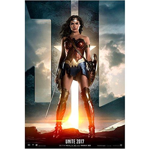 "Gal Gadot 8 inch x 10 inch Photograph Wonder Woman (2017) Wide Stance ""Unite 2017"" kn"