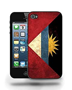 Antigua and Barbuda Vintage Flag Phone Case Cover Designs for iPhone 5