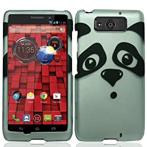 Hard Shell Protective Snap-On Case Cover For Motorola Droid Ultra XT1080 - Silly Panda