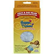 Happi Tummi Baby Gas Relief All Natural Belly Wrap Natural Herbal Aroma Therapy Relief For Infants and Babies with Colic, Gas,Upset Tummies Blue Plush