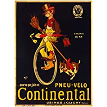 Continental French Advertising Vintage Tin Sign Advertising