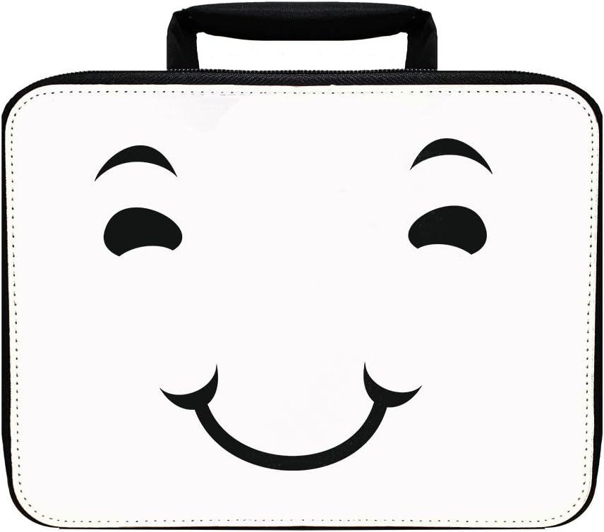 Cara feliz calma aislado almuerzo caja bolsa: Amazon.es: Hogar