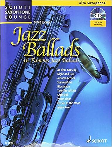 Jazz Ballads Saxophone CD