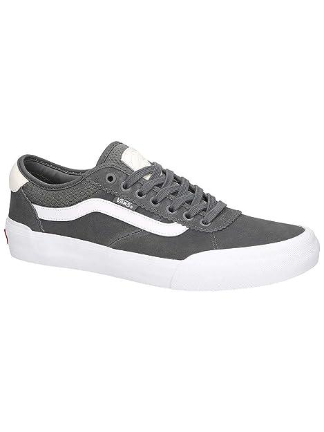 90e8f9d277b Vans Chima Pro 2 quot  Sneakers (Black White) Men s Canvas Skate Pro Shoes   Amazon.ca  Shoes   Handbags