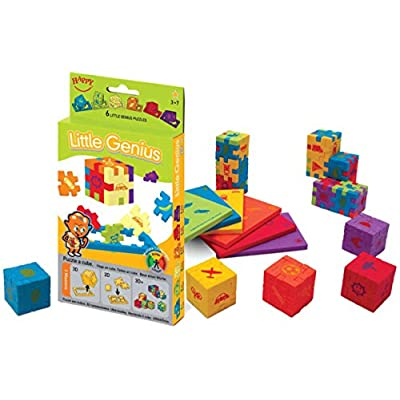 Happy Cube 11166 Little Genius 3D Puzzle 6 Pack: Toys & Games