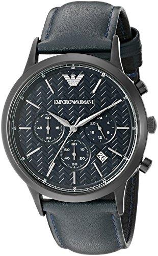 - Emporio Armani Men's AR2481 Dress Analog Display Analog Quartz Blue Watch