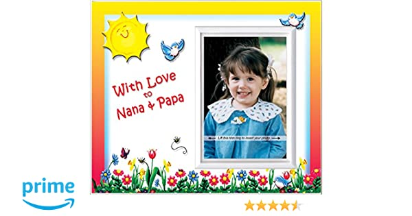 Amazon.com: With Love to Nana & Papa - Picture Frame Gift: Baby