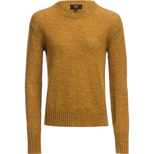 FRYE Morgan Long-Sleeve Crew-Neck Sweater - Women's Swede, M