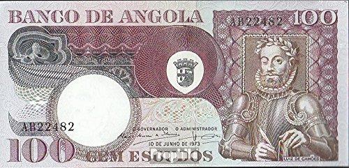 Angola Pick-No.: 106 1973 100 Escudos (Banconote ) Accessorio B004TSE9GU
