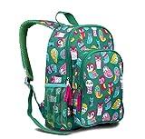 LONE CONE Kids' Canvas Preschool Backpack, Owl Be Learnin'