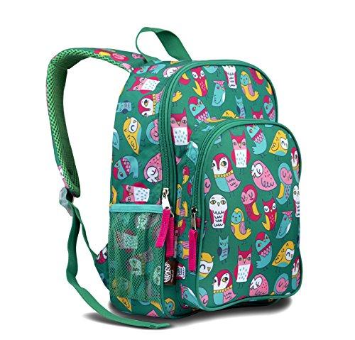 LONE CONE Kids' Canvas Preschool Backpack, Owl Be