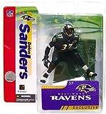 McFarlane Toys NFL Sports Picks Collectors Club Exclusive Action Figure Deion Sanders 2006 (Baltimore Ravens) Black Jersey