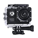 #8: ZIYUO Full HD 1080P 4K Sports Action Camera 2.0 inch Ultra HD TFT LCD screen Waterproof DV Recorder shooting 30 meters under water Ultra Wide Angle Lens and Portable Package
