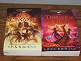 download ebook 2 books: the kane chronicles series set - the red pyramid + throne of fire (rick riordan the kane chronicles set series, vol. 1, 2) pdf epub